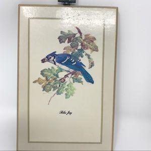 Vintage Wall Art - Vintage Bird Wall Art Cottagecore Farmhouse Decor
